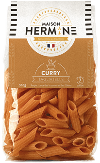 pates maison hermine curry